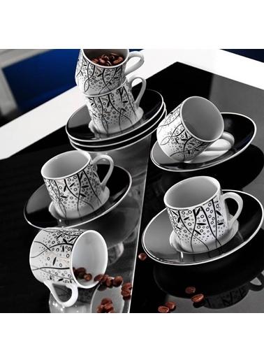 Kütahya Porselen Rüya 7041 Desen Kahve Fincan Takımı Kahve